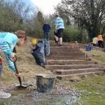 3 digging steps