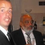 """""""Derr..."""" - Paul Cruttwell (left)"""