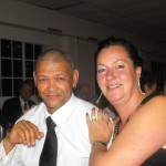 Bernie Thys and Lisa Stephens - Ladies Coach and Captain