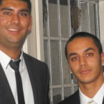 Kash Hassan (right) - Development Player of the Year