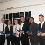 Members of the promotion winning 2nd X1