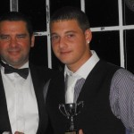 Alan Knott (right) - 2nd X1 Player of the Year