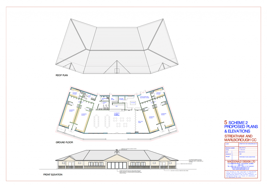 Proposed Plan for new SMCC Pavilion