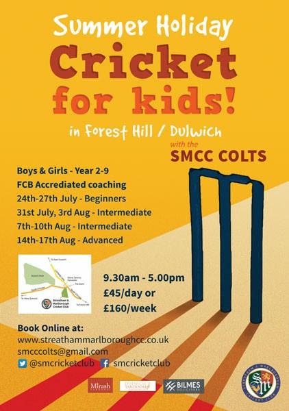 SMCC Summer Cricket Camp